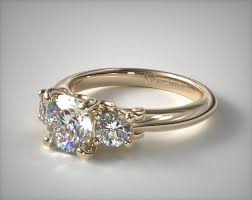 40000 engagement ring 17929y14 three engagement ring with scroll