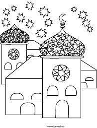 eid coloring masjid ramadan eid eid