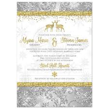 wedding invitations gold and white wedding invitation optional photo template silver gold white