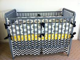 Yellow And Gray Crib Bedding by Baby Room Inspiring Image Of Unisex Baby Nursery Room Decoration
