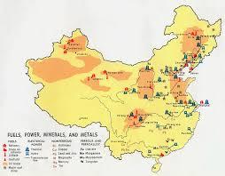 A Map Of China by Maps Of China Bizbilla Com