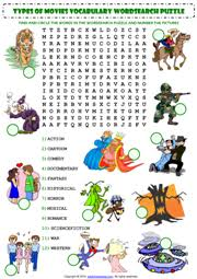 films movies esl printable worksheets and exercises