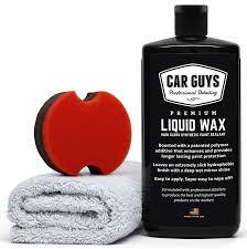 amazon com carguys liquid wax the ultimate car wax shine with
