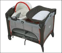 pack and play with bassinet and changing table graco pack n play changing table living room for graco pack n play