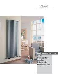 radiator selection guide 2008 uk kermi pdf catalogues
