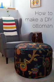 Chas Armchair How To Make A Diy Ottoman Home On 129 Acres