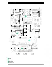 hotel le germain calgary by lemaymichaud architecture design ground floor plan drawing courtesy of lemaymichaud architecture design