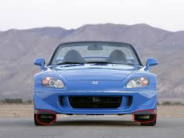 Honda S2000 Sports Car For Sale What Are These Flaps Under The Front Bumper For S2ki Honda