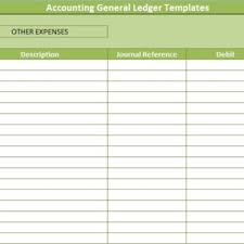 100 accounting ledger template excel general ledger example