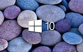 halloween background windows 10 white windows 10 on blue and purple stones
