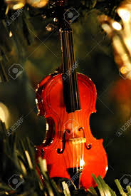 miniature violin ornament stock photo picture and royalty