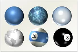 drawing in powerpoint spheres planets and balls powerpointy