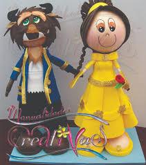 la bestia la y la bestia fofuchas beast dolls and craft