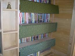 Bookcase Clips Fabric Cardboard Bookshelf Dust Shields