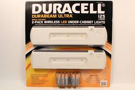 battery under cabinet lighting duracell wireless motion activated led under cabinet lights 2 pk