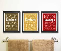 Etsy Bathroom Art Best 25 Cowboy Bathroom Ideas On Pinterest Country Cabin Decor