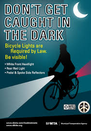 california red light law are rear red lights required for bicycles at night in california