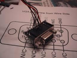 vga composite connector mod