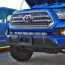 2017 tacoma light bar 2016 toyota tacoma 30 light bar lower bumper bracket desolate