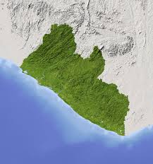 Liberia Africa Map by Liberia Q Files Encyclopedia