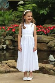 dress for communion classic baptism dress white flower girl dress communion portrait