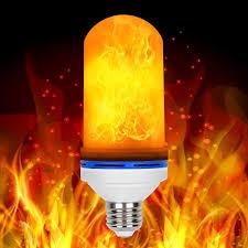 led flame effect fire light bulbs loveishere led flame effect fire light bulbs 2 modes e26 led flame