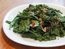 grilled kale salad with warm bacon vinaigrette recipe serious eats
