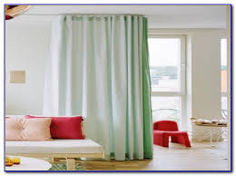 Room Divider Rod by Ceiling Curtain Rod Room Divider Curtain Home Decorating Ideas
