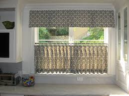 large kitchen window treatment ideas kitchen kitchen curtain ideas for large windows colorful kitchen