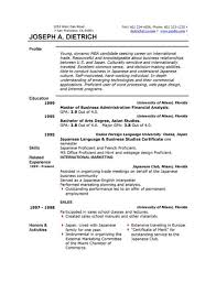 functional resume format example sample functional resume for a