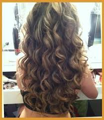 brown amp blonde smokey curls hairstyles and beauty tips beautiful