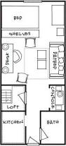 How Big Is 550 Square Feet 16x30 1 Bedroom House 16x30h1 480 Sq Ft Excellent Floor
