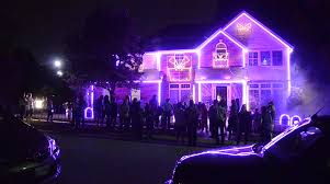 Halloween Lights On House Capital Gazette Holding Countywide Best Halloween Lawn Contest