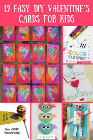 kids valentines cards 19 easy diy s cards for kids totscoop