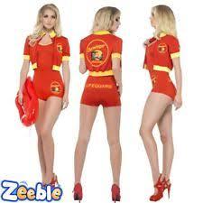 Lifeguard Halloween Costumes Womens Lifeguard Costume Ebay