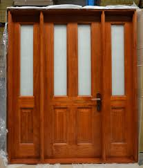 solid timber front doors wood exterior traditional door entrance