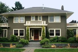 Painting Masonry Exterior - exterior paint color schemes dulux home painting