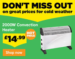 homebase prices on keeping you warm great value on