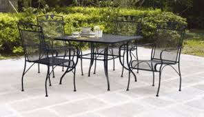 Black Rod Iron Patio Furniture Black Wrought Iron Patio Furniture Outdoor Room Ideas