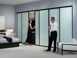 Sliding Glass Closet Door Sliding Closet Doors With Glass Or Mirror The Door Store Regarding
