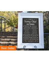 chalkboard program wedding find the best savings on programs take one black and