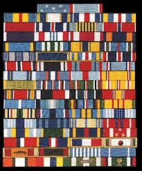 ribbon display usaf medals correct wear