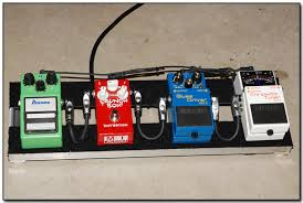 plesae show me your homemade small pedal board the gear page