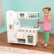 kidkraft cuisine vintage kidkraft white retro play kitchen and refrigerator kitchen designs