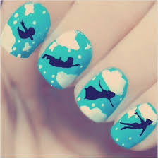 20 amazing and simple nail 20 magical disney nail designs you u0027ll adore u2013 naildesigncode