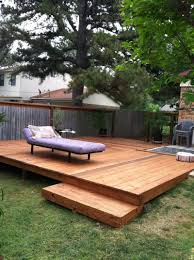 Nice Backyard Ideas by Backyard Wood Deck Ideas Home Outdoor Decoration