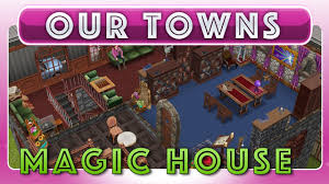 Harry Potter House by Sims Freeplay Magical Harry Potter House Original House Design