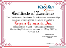 Free Certificate Of Excellence Template 9 Best Awards Certificate Templates Images On