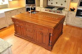 kitchen island with cutting board top beaufiful cutting board kitchen island pictures kitchen island
