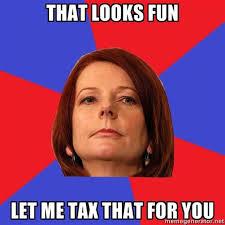 Julia Meme - julia tax meme pedestrian tv